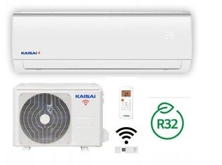 KAISAI FLY - Klimatyzator ścienny inverter split z modułem WiFi w komplecie 3,5 kW