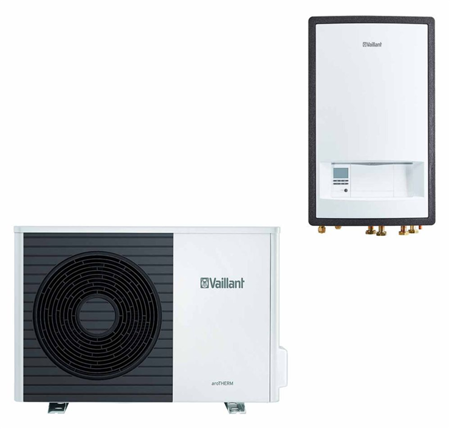 VAILLANT - Pompa ciepła aroTHERM VWL 55/5AS + VWL57/5IS + Multimatic VRC 700