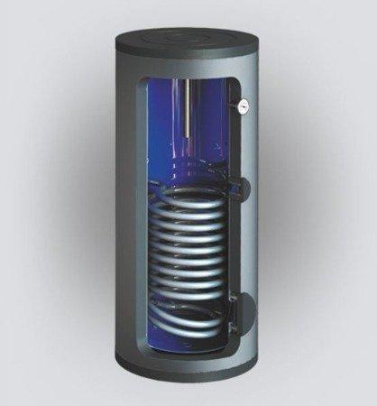 Wymiennik c.w.u. SBZ-250.TERMO-SOLAR, 250 litrów, z dwoma wężownicami i podłączeniem do zewnętrznego wymiennika ciepła